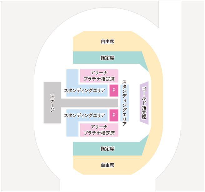 TGC座席図