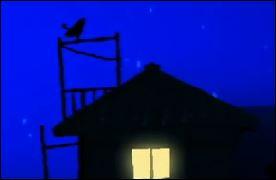 松野家の屋根